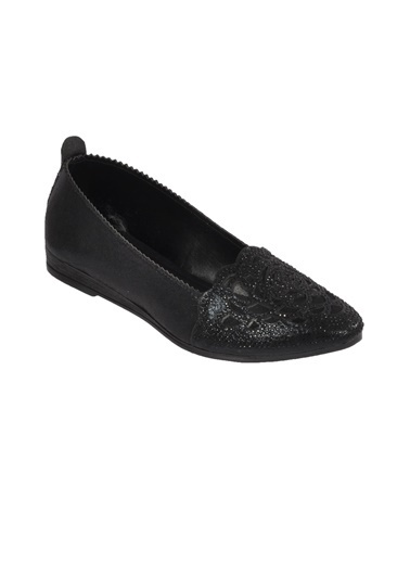 Mhd 2126 Platin Kadın Günlük Ayakkabı Siyah